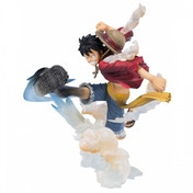 Ex-Display One Piece Zero Luffy Gum Gum (One Piece Pirates) Bandai Tamashii Nations Figuarts Zero Figure Used - Like New