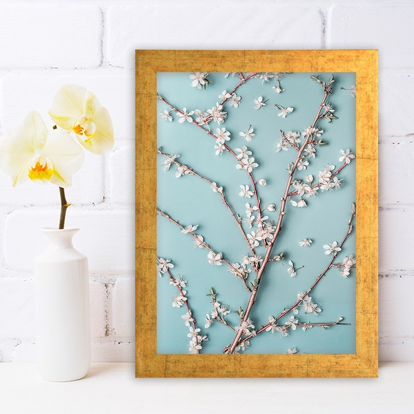 AC1069167434 Multicolor Decorative Framed MDF Painting