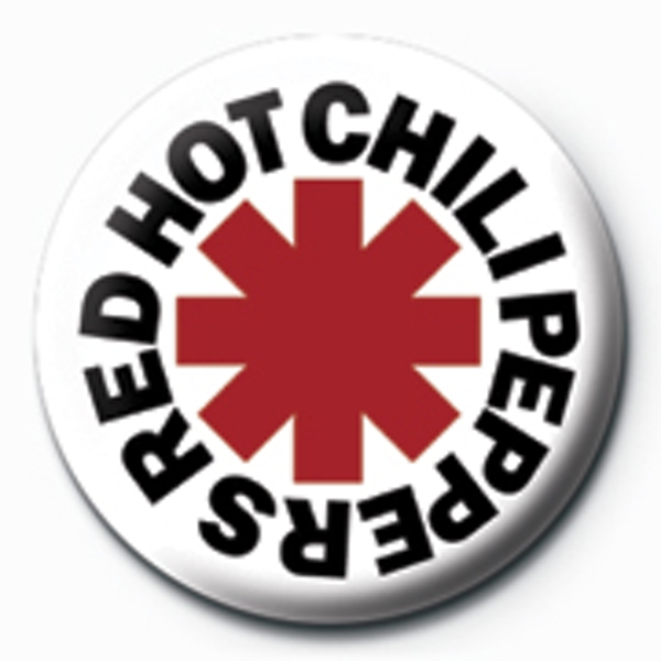 Red Hot Chili Peppers - Logo Badge