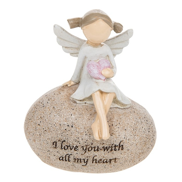 Angel Stones Love Ornament