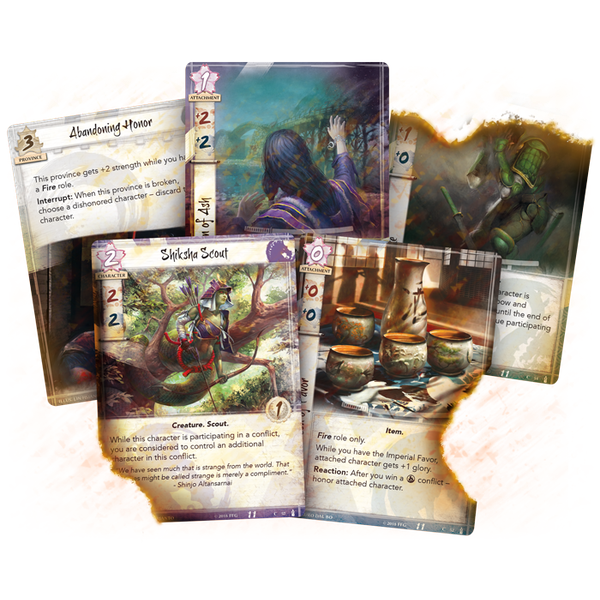 Legend of the Five Rings TCG: The Fires Within Dynasty Pack - Image 2