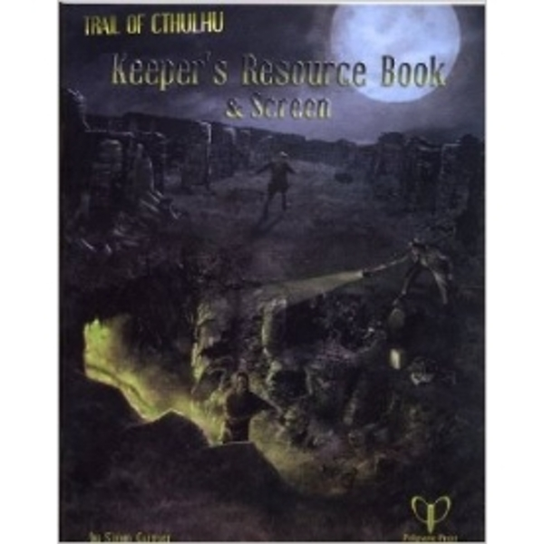 Trail of Cthulhu Keepers Resource Book