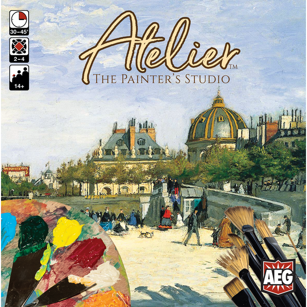 Atelier: The Painter's Studio Board Game