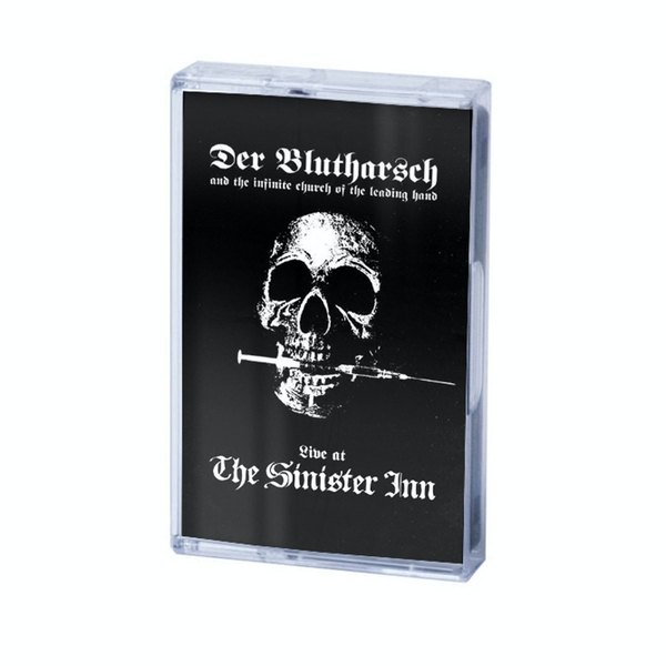 Der Blutharsch And The Infinite Church Of The Leading Hand ‎– Live At The Sinister Inn Cassette