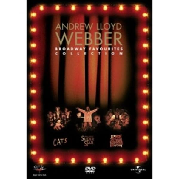 Andrew Lloyd Webber's Broadway Favourites Collection DVD