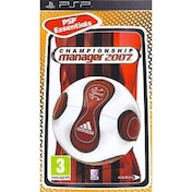 Championship Manager 2007 Game PSP