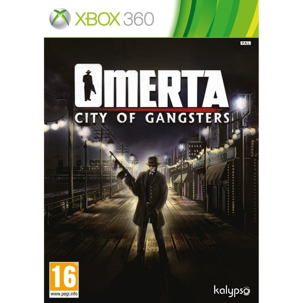 Omerta City of Gangsters Game Xbox 360