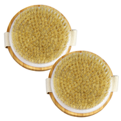 Bamboo Body Brushes - Set of 2| M&W