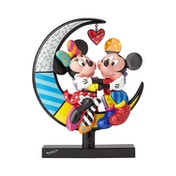 Mickey and Minnie on Moon Stone (Classic Disney) Disney Britto Figurine