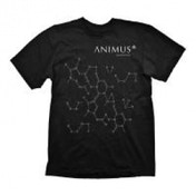Assassin's Creed Men's Small T-shirt DNA Strands - Animus Powered By Abstergo Industries