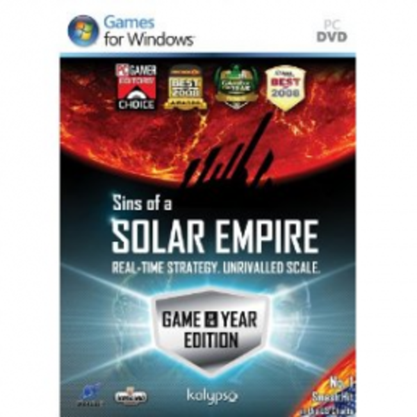 Sins Of A Solar Empire Game Of The Year Edition Game (GOTY) PC