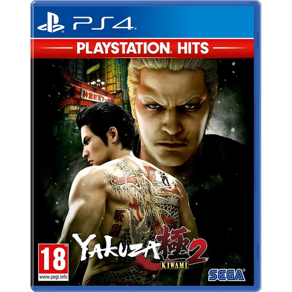 Yakuza Kiwami 2 PS4 Game (PlayStation Hits)