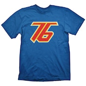 Overwatch - Soldier 76 Men's Medium T-Shirt - Blue