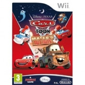 Ex-Display Disney Cars Toon Maters Tall Tales Game Wii Used - Like New