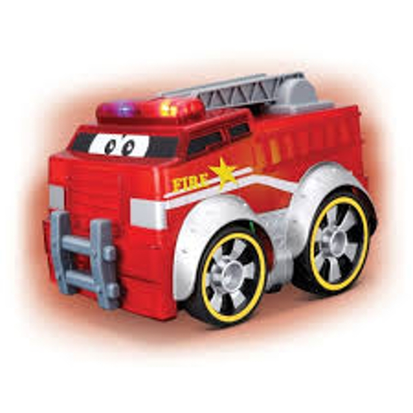 BB Junior Push & Glow Fire Truck Toy