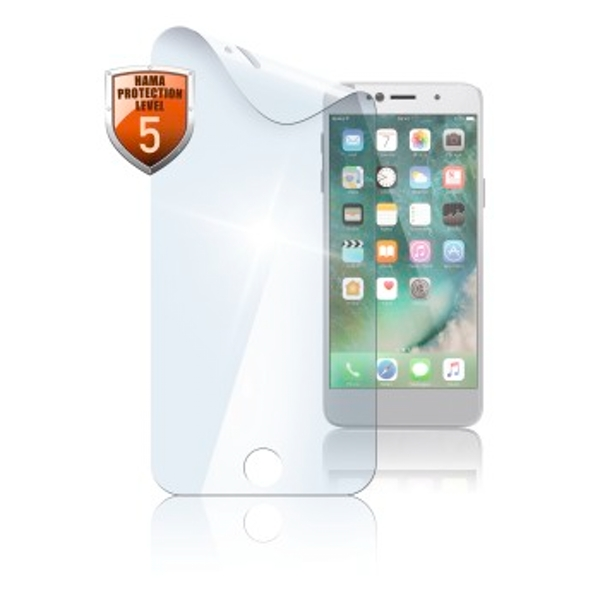 """Hama """"Crystal Clear"""" Screen Protector for Apple iPhone 7/8, 2 pieces"""