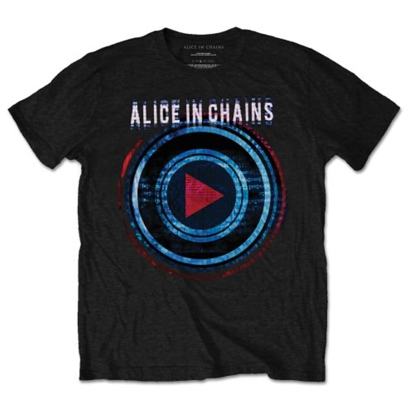 Alice In Chains - Played Unisex Large T-Shirt - Black