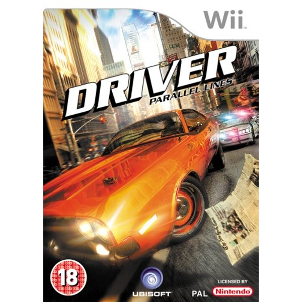 Driver Parallel Lines Game Wii