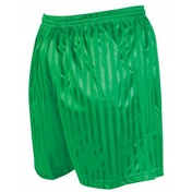 Precision Striped Continental Football Shorts 34-36 inch Green