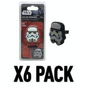 Storm Trooper (Pack Of 6) Star Wars 3D Vent Clip