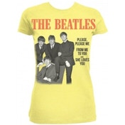 The Beatles Please Please Me Yellow Ladies TS: XL