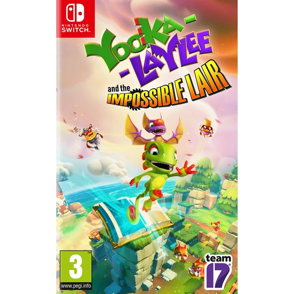 Yooka-Laylee and the Impossible Lair Nintendo Switch Game (Pre-Order Bonus DLC)