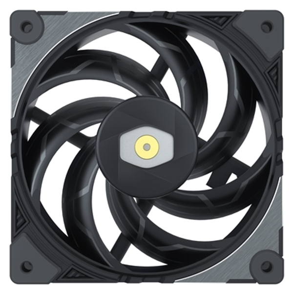 Cooler Master MasterFan SF120M 120mm 2000RPM PWM Premium Black Fan