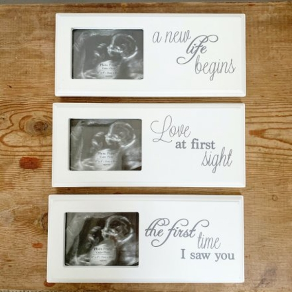 Baby Scan Photo Frame Mix