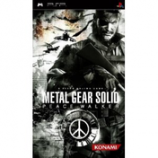 Metal Gear Solid Peace Walker Game PSP