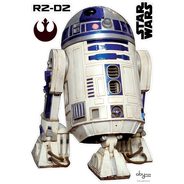Star Wars - R2D2 (Blister) Stickers