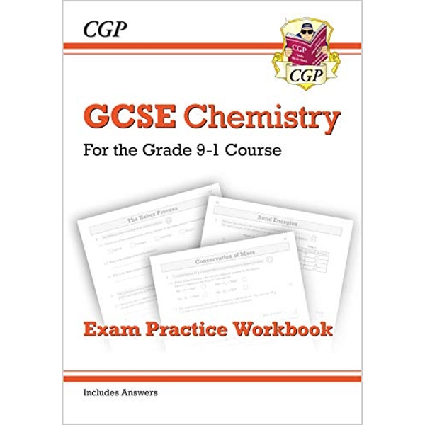 New Grade 9-1 GCSE Chemistry: Exam Practice Workbook (with Answers) by CGP Books (Paperback, 2016)
