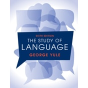 The Study of Language 6th Edition by George Yule (Paperback, 2016)