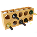 Bamboo Wall Mounted Wine Rack | M&W - Image 5