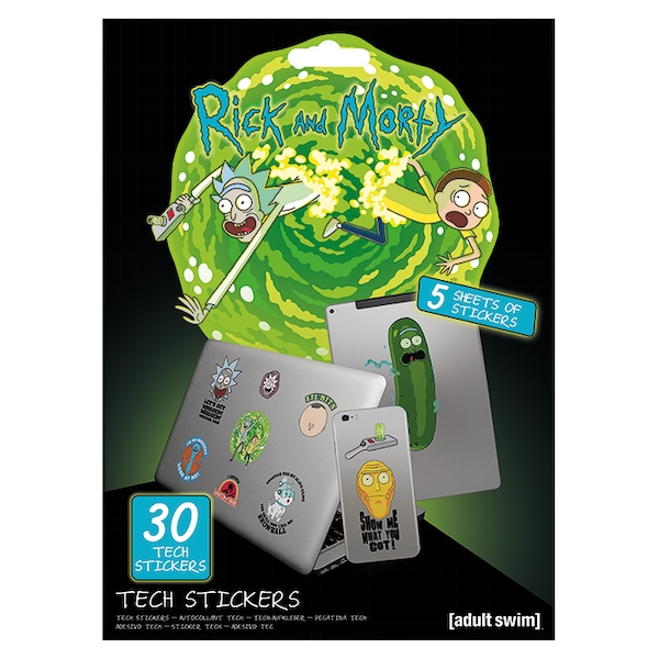 Rick and Morty - Adventures Sticker
