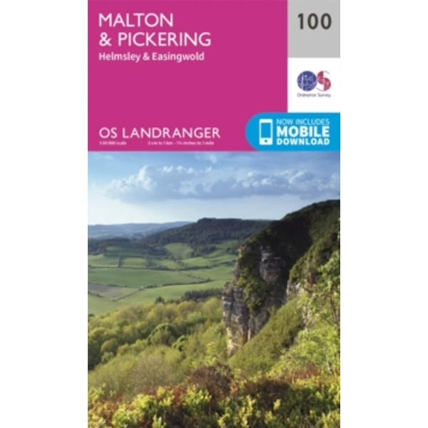 Malton & Pickering, Helmsley & Easingwold by Ordnance Survey (Sheet map, folded, 2016)