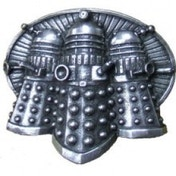 Doctor Who Dalek Pewter Belt Buckle