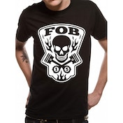 Fall Out Boy - Gear Head Unisex Large T-Shirt - Black