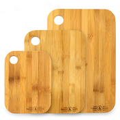 Bamboo Chopping Board - Set of 3 | M&W