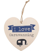 Love Caravanning Hanging Heat Sign