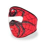 Full Face Neoprene Bike/Ski/Snowboard Mask - Spider