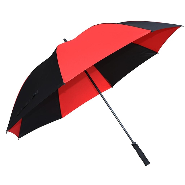 Fiberglass Golf Umbrella - Black/Red