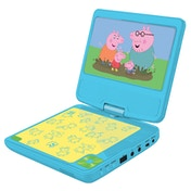Lexibook DVDP6PP Peppa Pig Portable DVD Player UK Plu