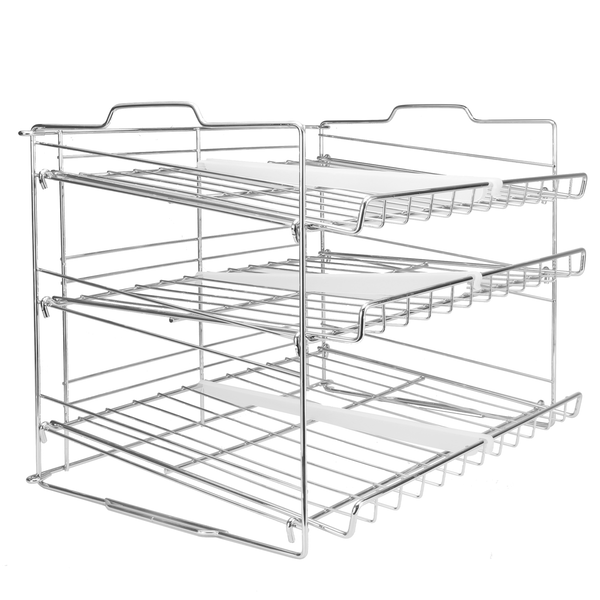 3 Tier Tin Can Rack | M&W