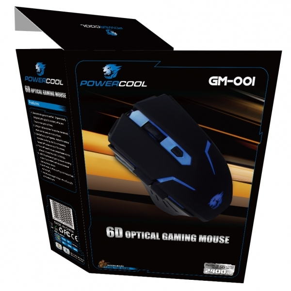 Powercool GM001 Gaming Mouse Blue - Image 3