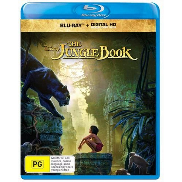 The Jungle Book (2016) Blu-ray