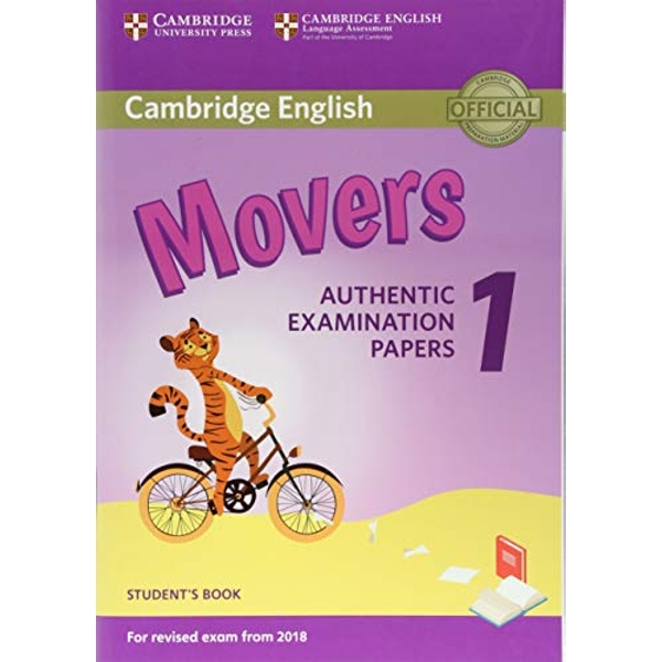 Cambridge English Movers 1 for Revised Exam from 2018 Student's Book Authentic Examination Papers Paperback / softback 2017