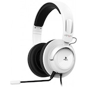Venom Vibration Stereo Gaming Headset White PS4 & PS3