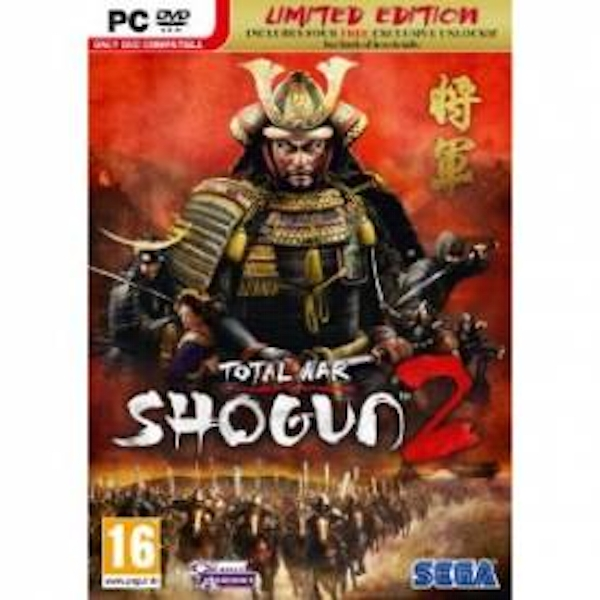 Total War Shogun 2 Limited Edition Game PC