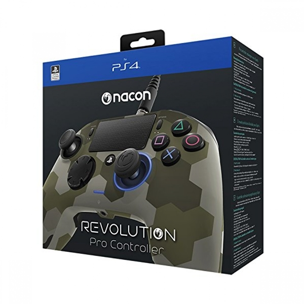 Nacon Revolution Pro Controller (Green Camo) PS4 - Image 3