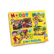 Noddy 4 in 1 Jigsaw Puzzle